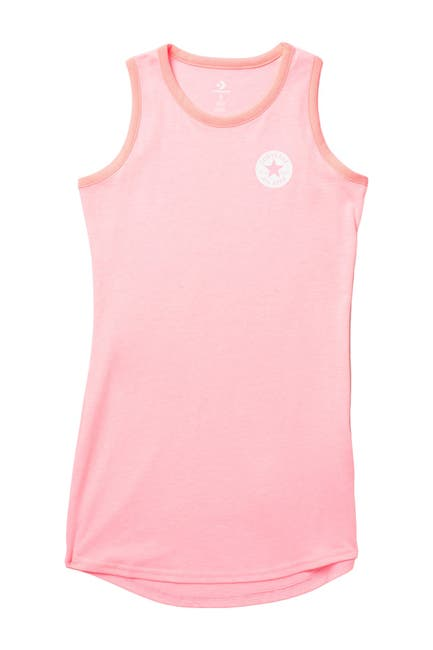 Image of Converse Mesh Blocked Tank Dress