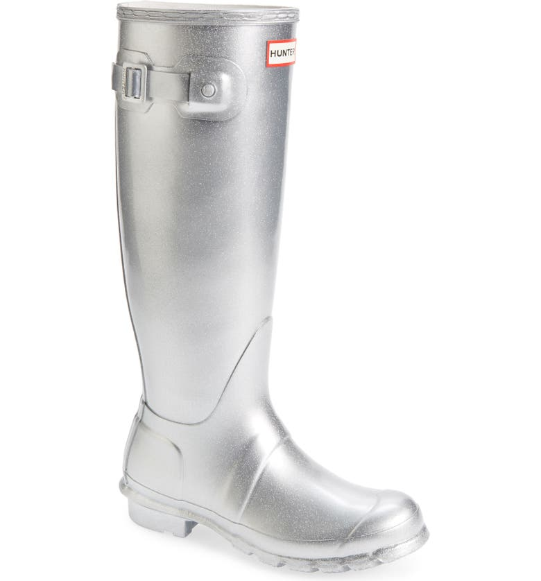 HUNTER Original Tall Cosmic Waterproof Rain Boot, Main, color, 041