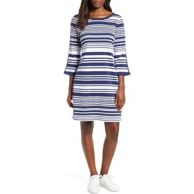 Tommy Bahama Knotty Stripe Shift Dress, Blue