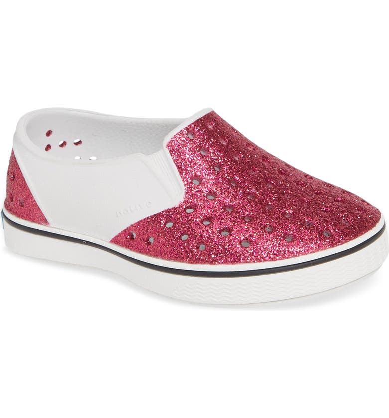 NATIVE SHOES Miles Bling Water Friendly Slip-On Vegan Sneaker, Main, color, 650