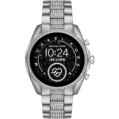 Michael Kors Access Bradshaw Ii Pave Bracelet Smart Watch, 4m