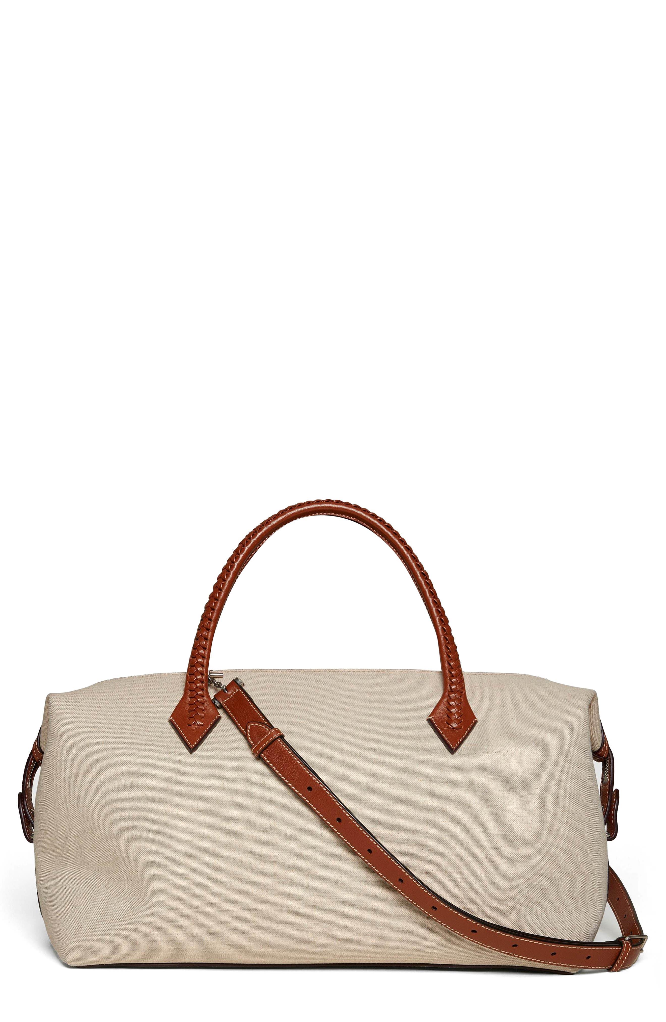 Perriand City Linen Duffle Handbag
