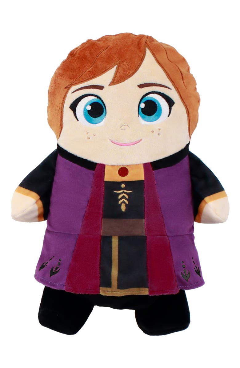 CUBCOATS x Disney<sup>®</sup> 'Frozen' Anna 2-in-1 Stuffed Animal Hoodie, Main, color, PURPLE MIX
