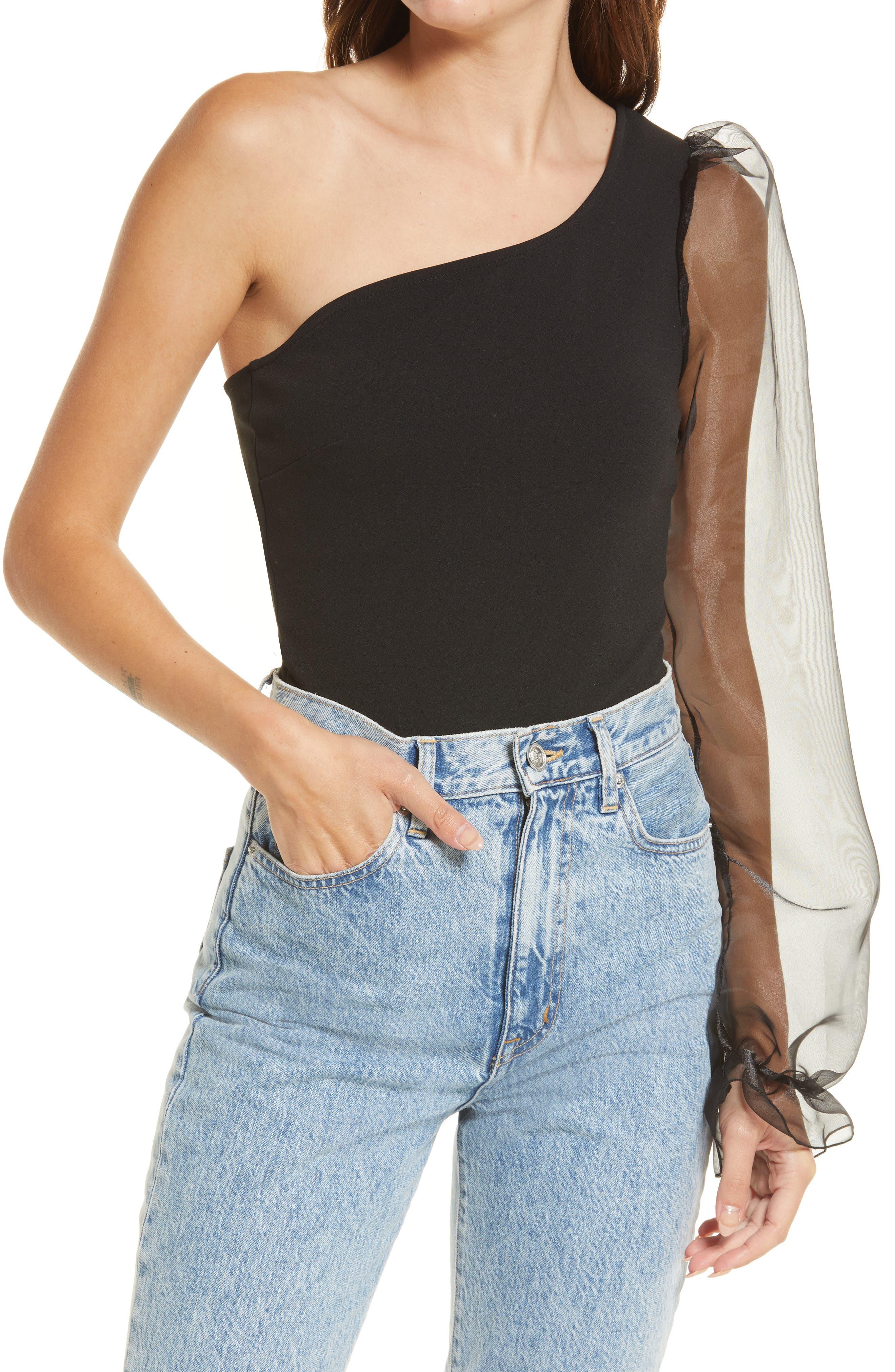 Mystique One-Shoulder Bodysuit