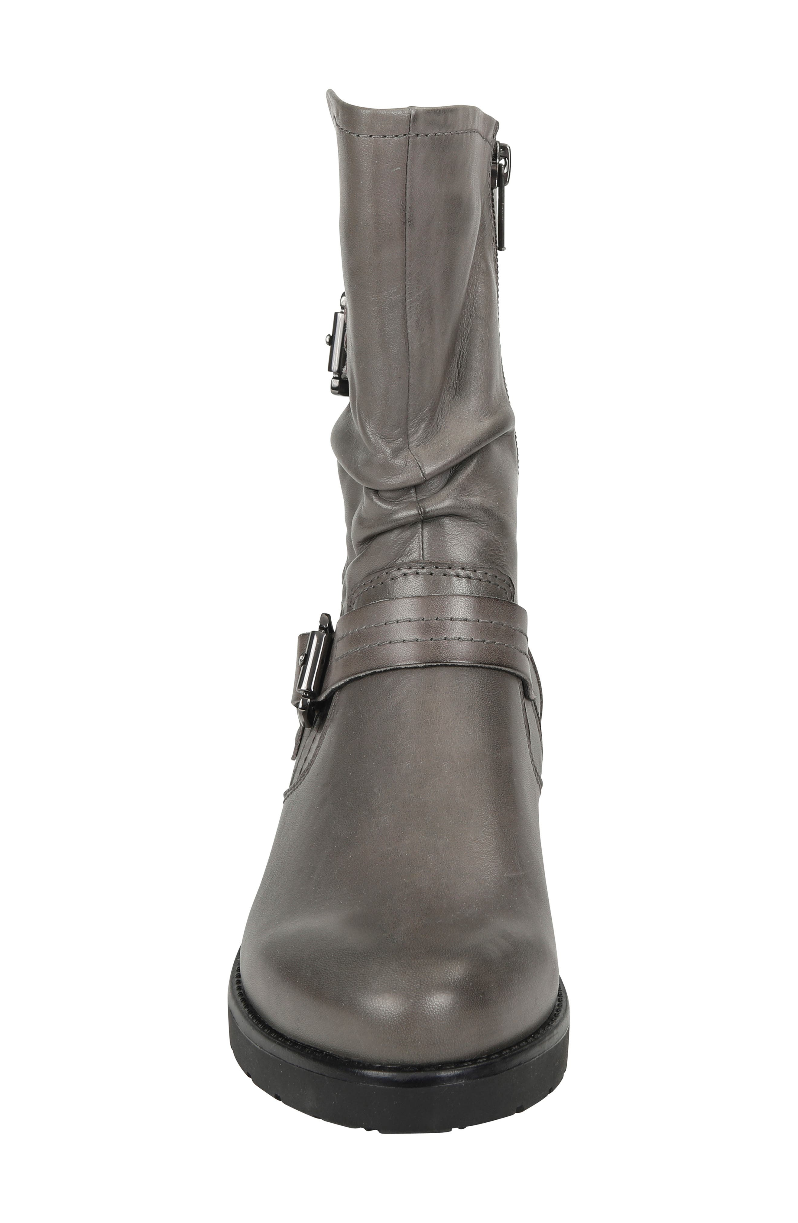 ,                             Talus Boot,                             Alternate thumbnail 4, color,                             GREY LEATHER