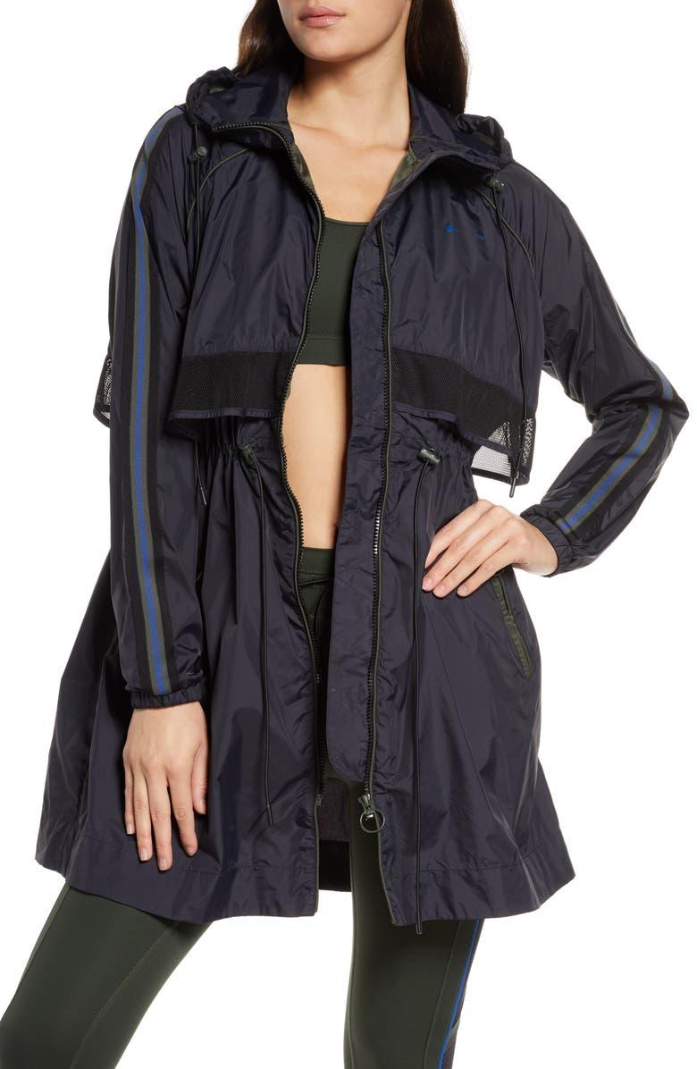 THE UPSIDE Isabella Raincoat, Main, color, BLACK
