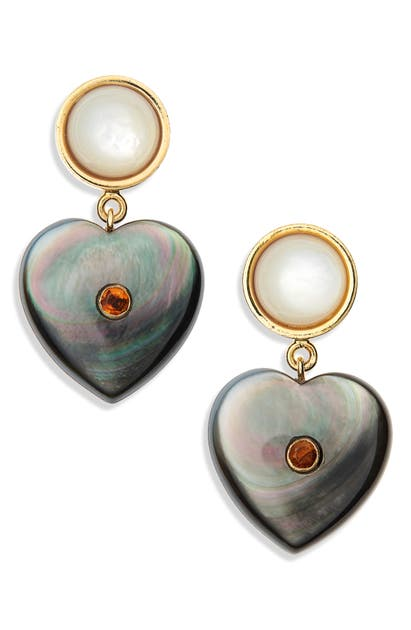 Lizzie Fortunato Accessories FOREVERMORE HEART EARRINGS