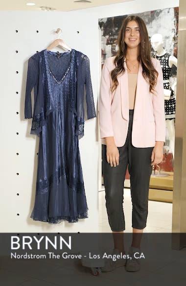 V-Neck Midi Dress with Jacket, sales video thumbnail