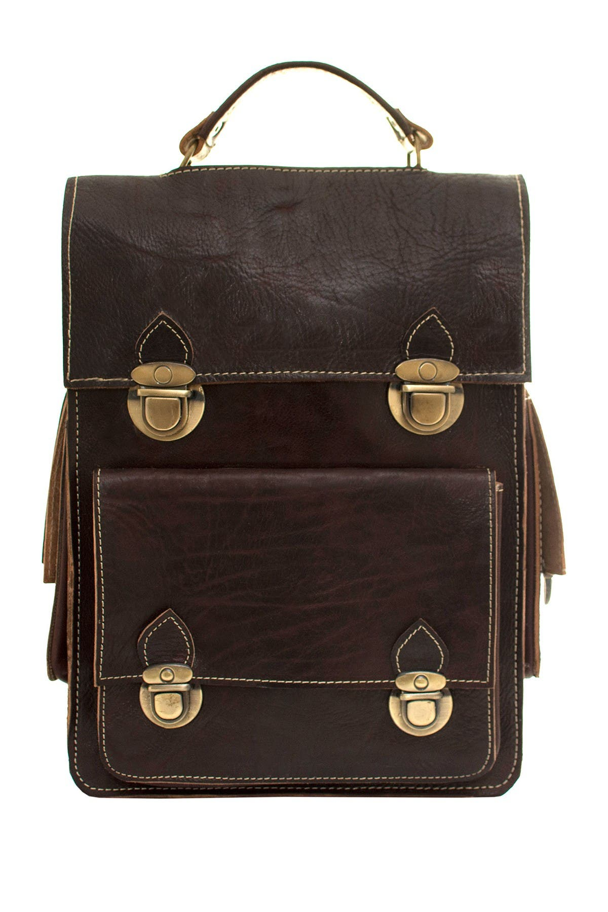 Image of Vintage Addiction Heritage Leather Convertible Bag
