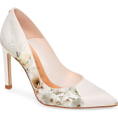 Ted Baker London Mwelni Pointed Toe Pump, Pink