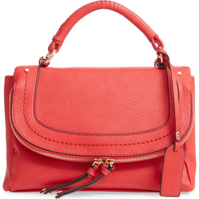 Sole Society Rubie Top Handle Bag - Red