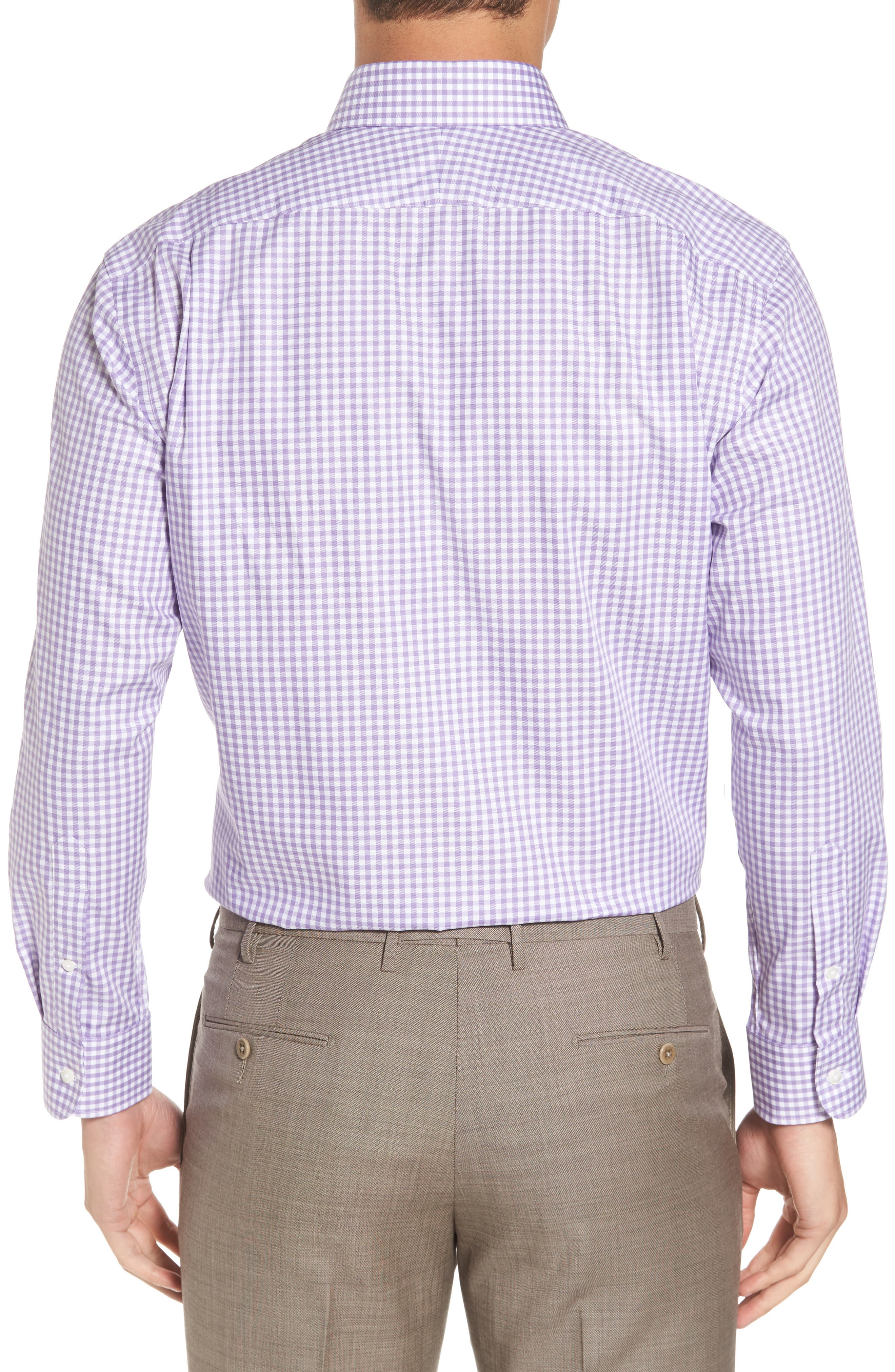 ,                             Traditional Fit Non-Iron Gingham Dress Shirt,                             Alternate thumbnail 20, color,                             500