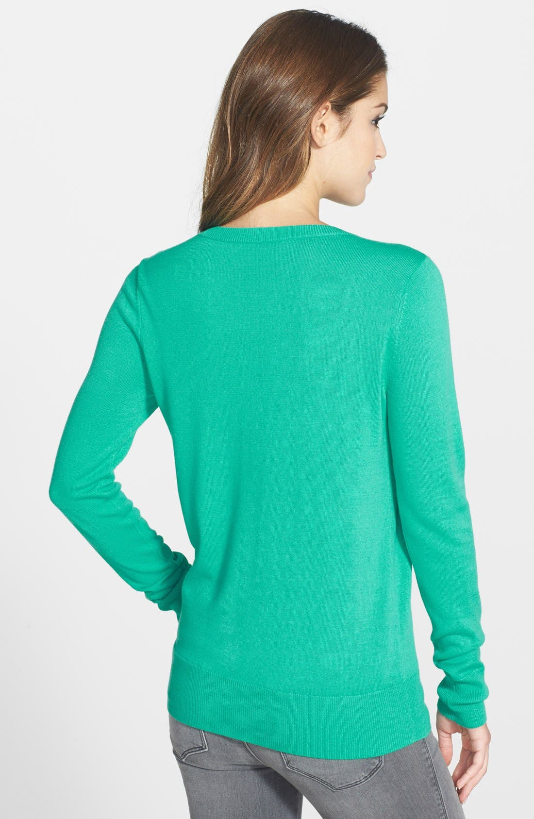 ,                             Crewneck Sweater,                             Alternate thumbnail 33, color,                             440