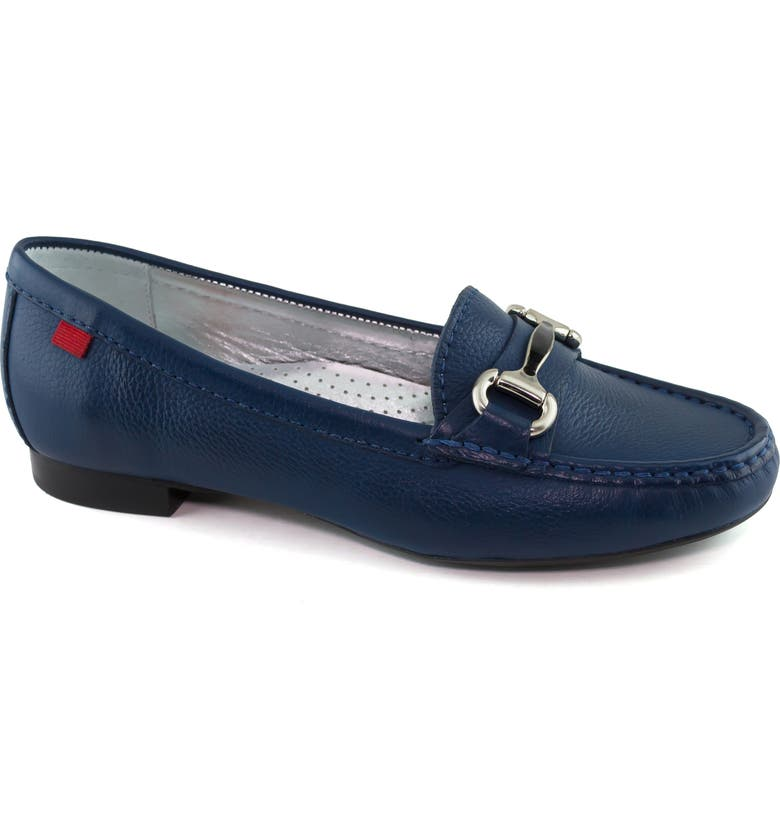 MARC JOSEPH NEW YORK Grand Street Loafer, Main, color, ICE BLUE LEATHER