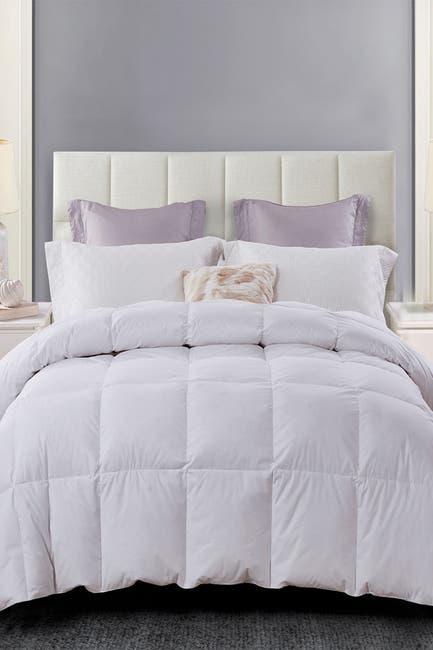 Image of Blue Ridge Home Fashions Serta All Season Down 100% Cotton Comforter - Full/Queen - White