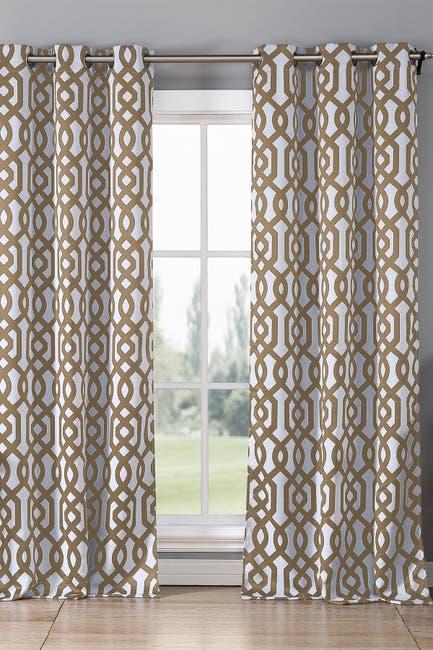 Image of Duck River Textile Ashmont Blackout Grommet Curtain - Set of 2 - Taupe