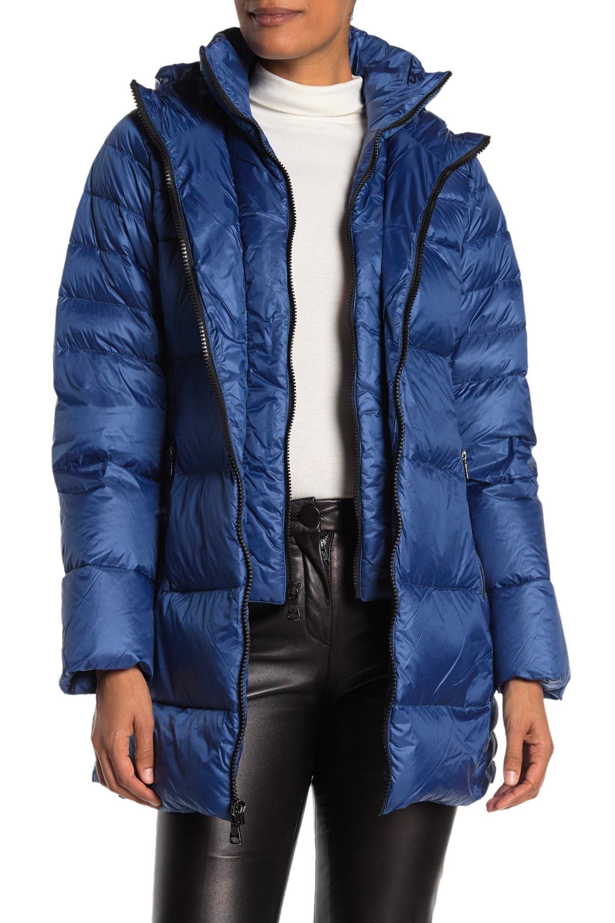 Vince Camuto Womens Packable Down Jacket