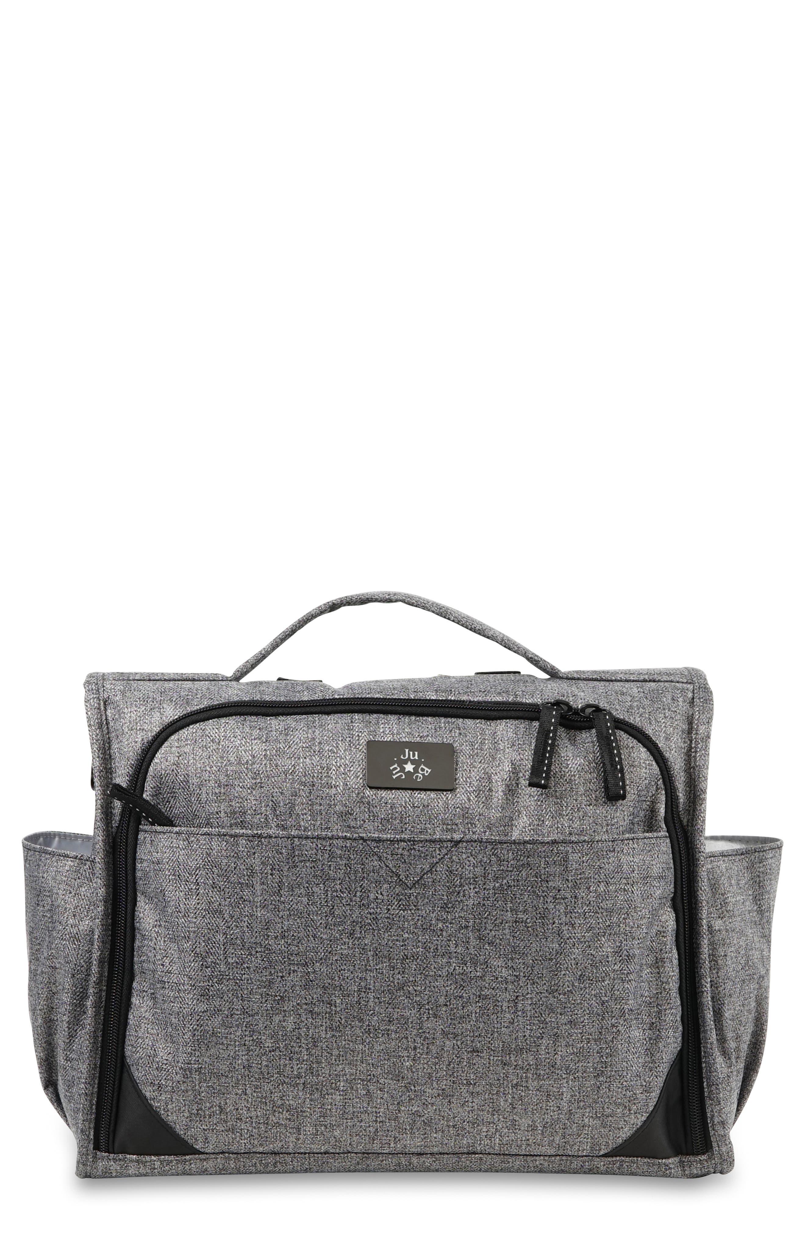 Classical Convertible Diaper Bag, Main, color, GRAPHITE