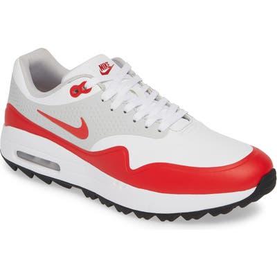 Nike Air Max 1 Golf Shoe, White