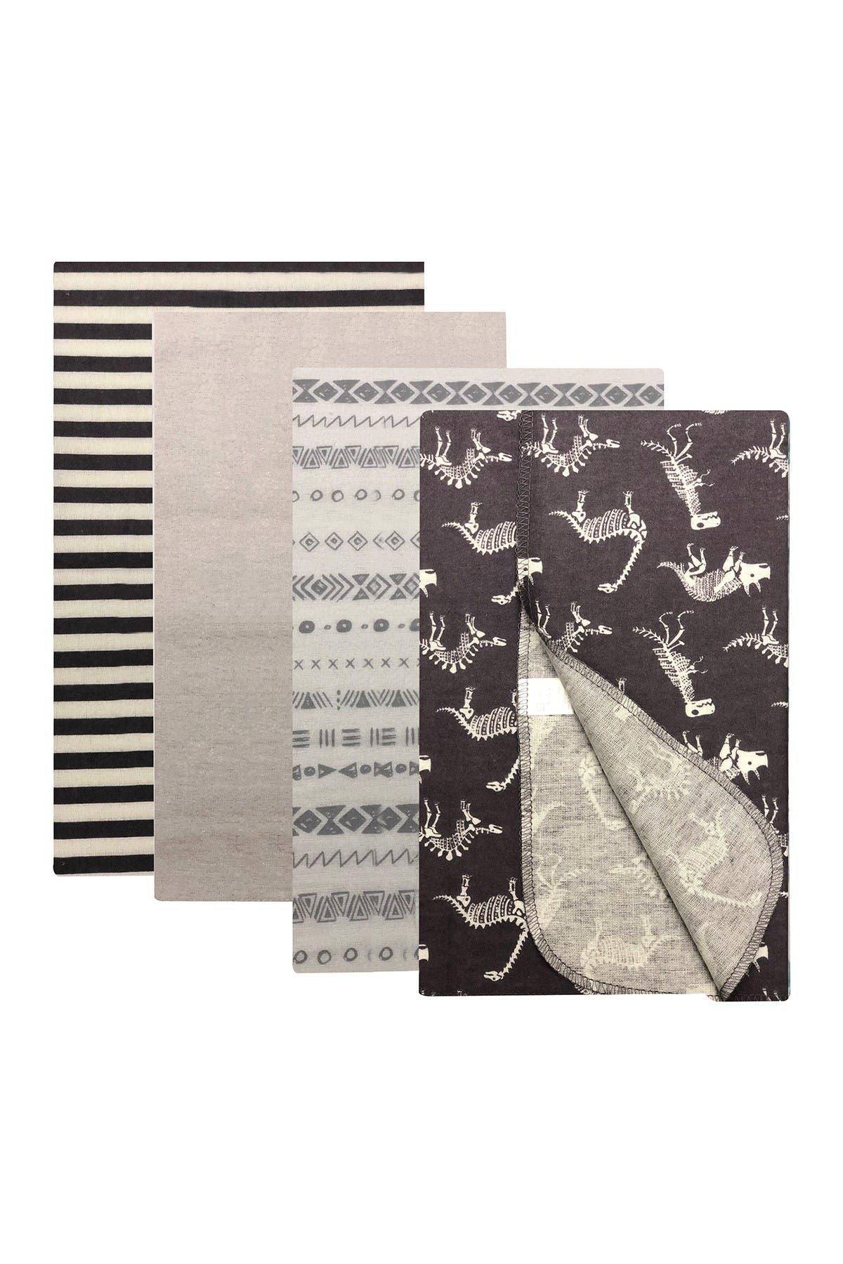 Image of Modern Baby Receiving Blankets - Pack of 4