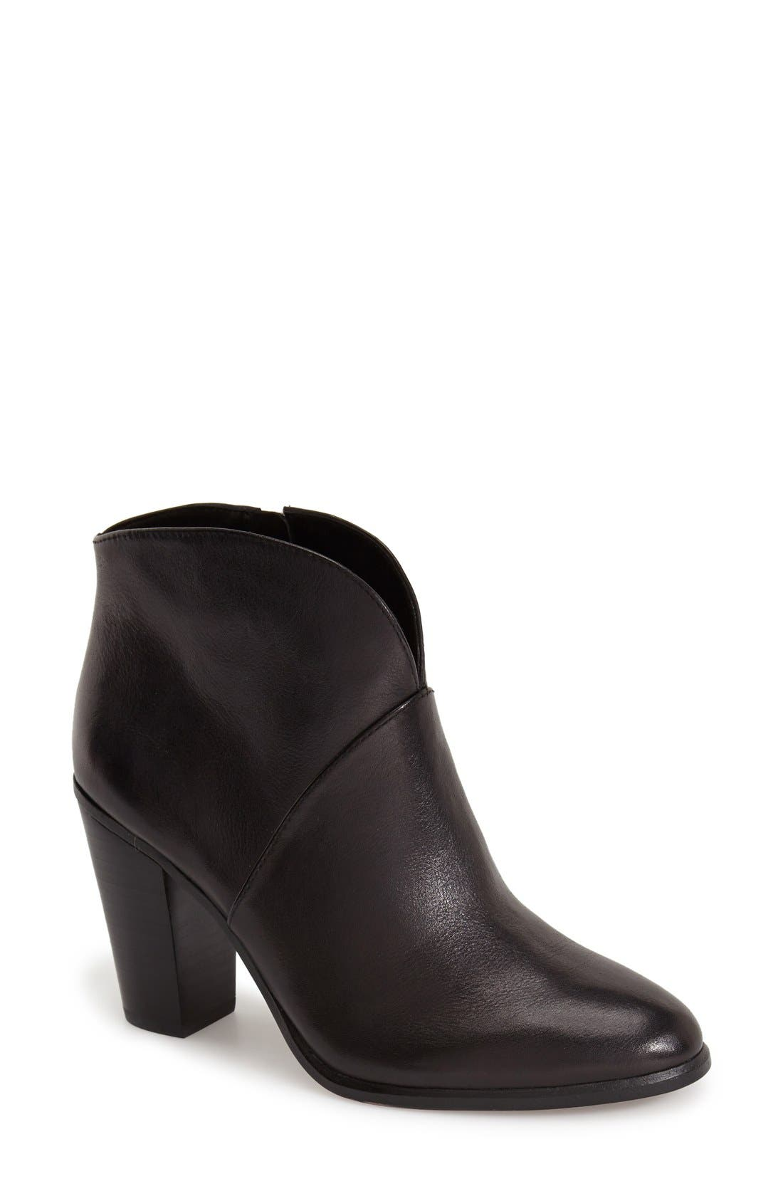 ,                             'Franell' Western Bootie,                             Main thumbnail 1, color,                             002