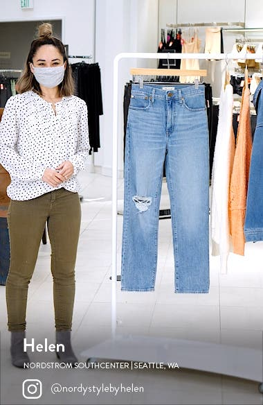 The Perfect Vintage Full Length Straight Leg Jeans, sales video thumbnail