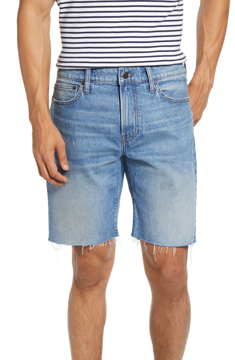 MADEWELL 9-Inch Denim Shorts, Main, color, EASTCHASE