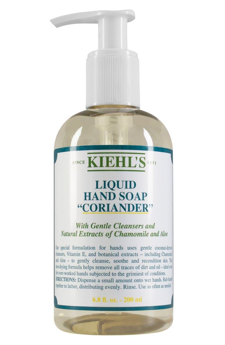 KIEHL'S SINCE 1851 Coriander Liquid Hand Soap, Main, color, NO COLOR