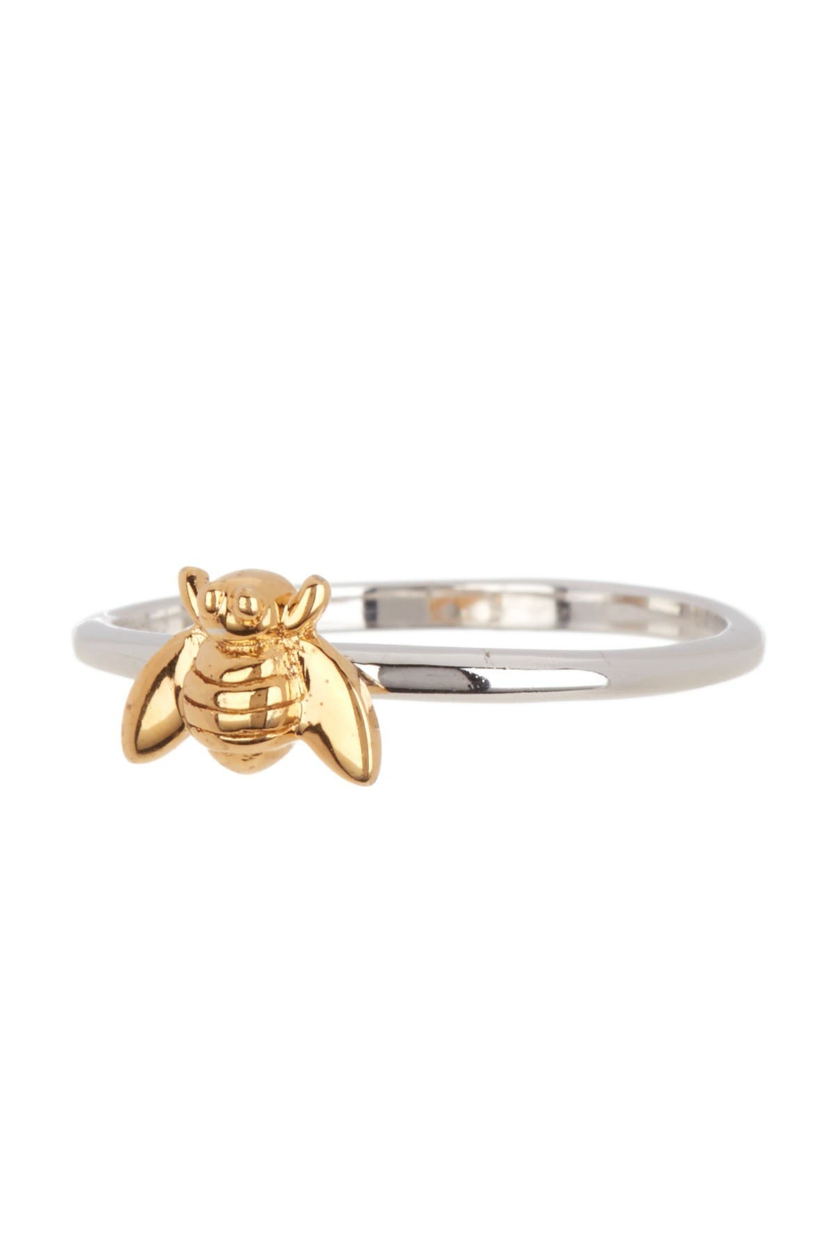 Image of Candela Two-Tone Sterling Silver Bee Ring