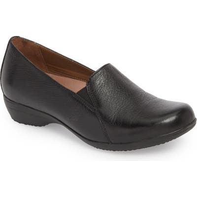 Dansko Farah Loafer-7- Black