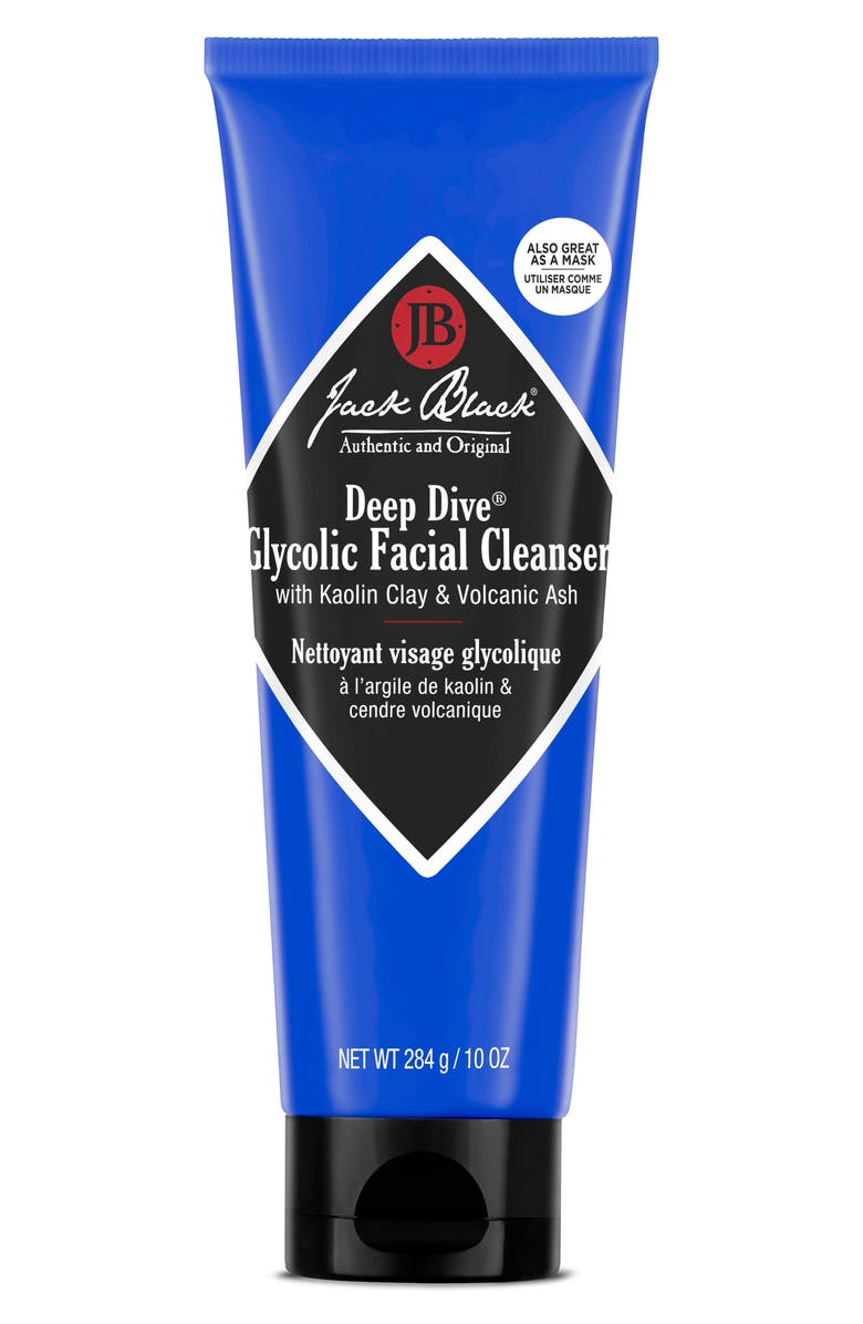 JACK BLACK Deep Dive Glycolic Facial Cleanser, Main, color, NO COLOR