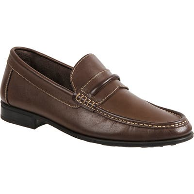 Sandro Moscoloni Penny Loafer - Brown