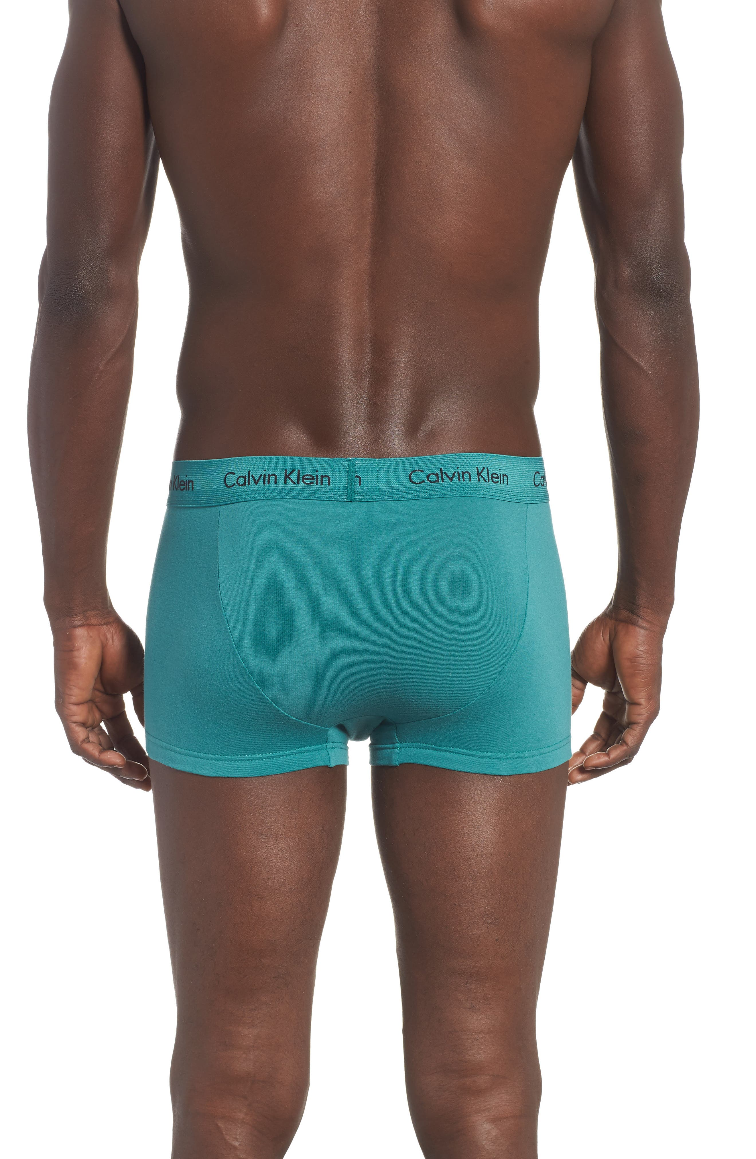 ,                             3-Pack Stretch Cotton Low Rise Trunks,                             Alternate thumbnail 74, color,                             082