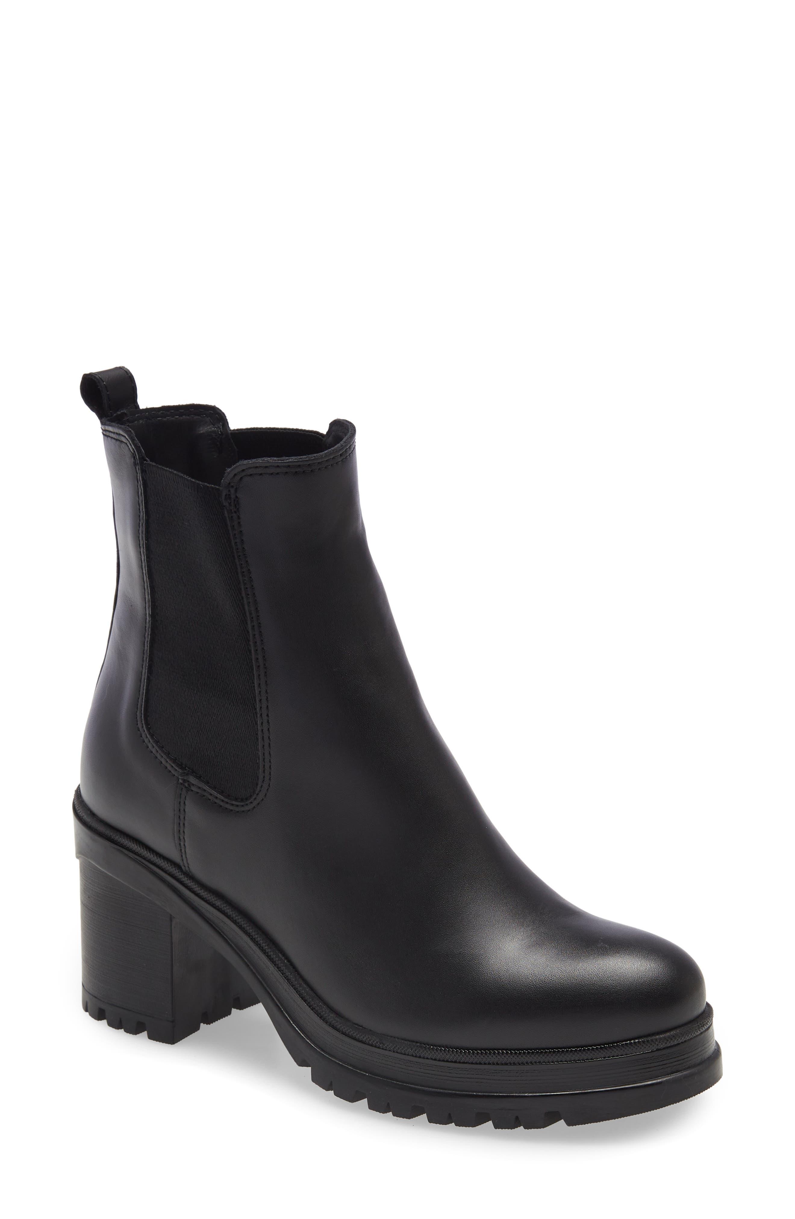 Paxton Waterproof Platform Chelsea Boot