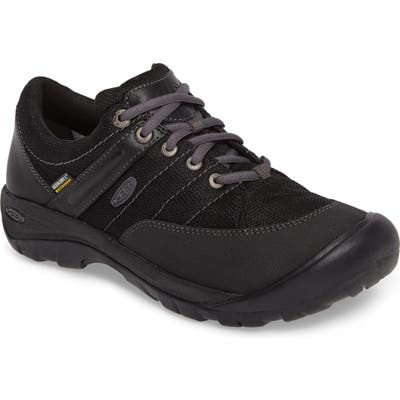 Keen Presidio Waterproof Sport Sneaker, Black