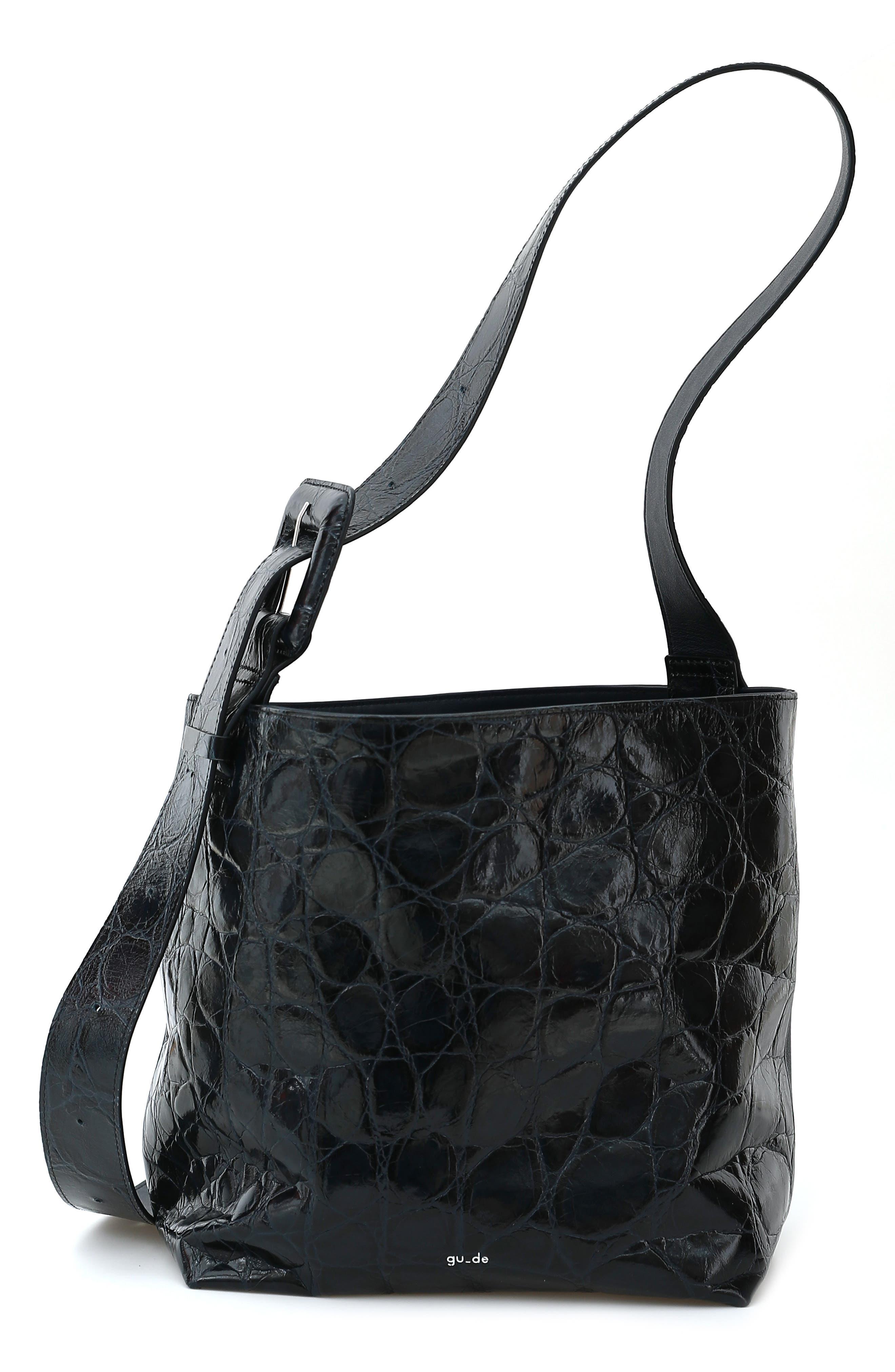 Gu-De Small Kate Leather Shoulder Bag