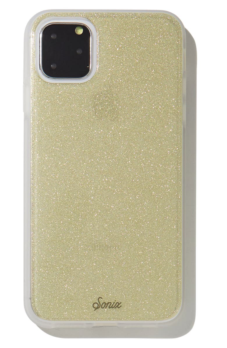 SONIX Golden Glitter iPhone 11, 11 Pro & 11 Pro Max Case, Main, color, 710