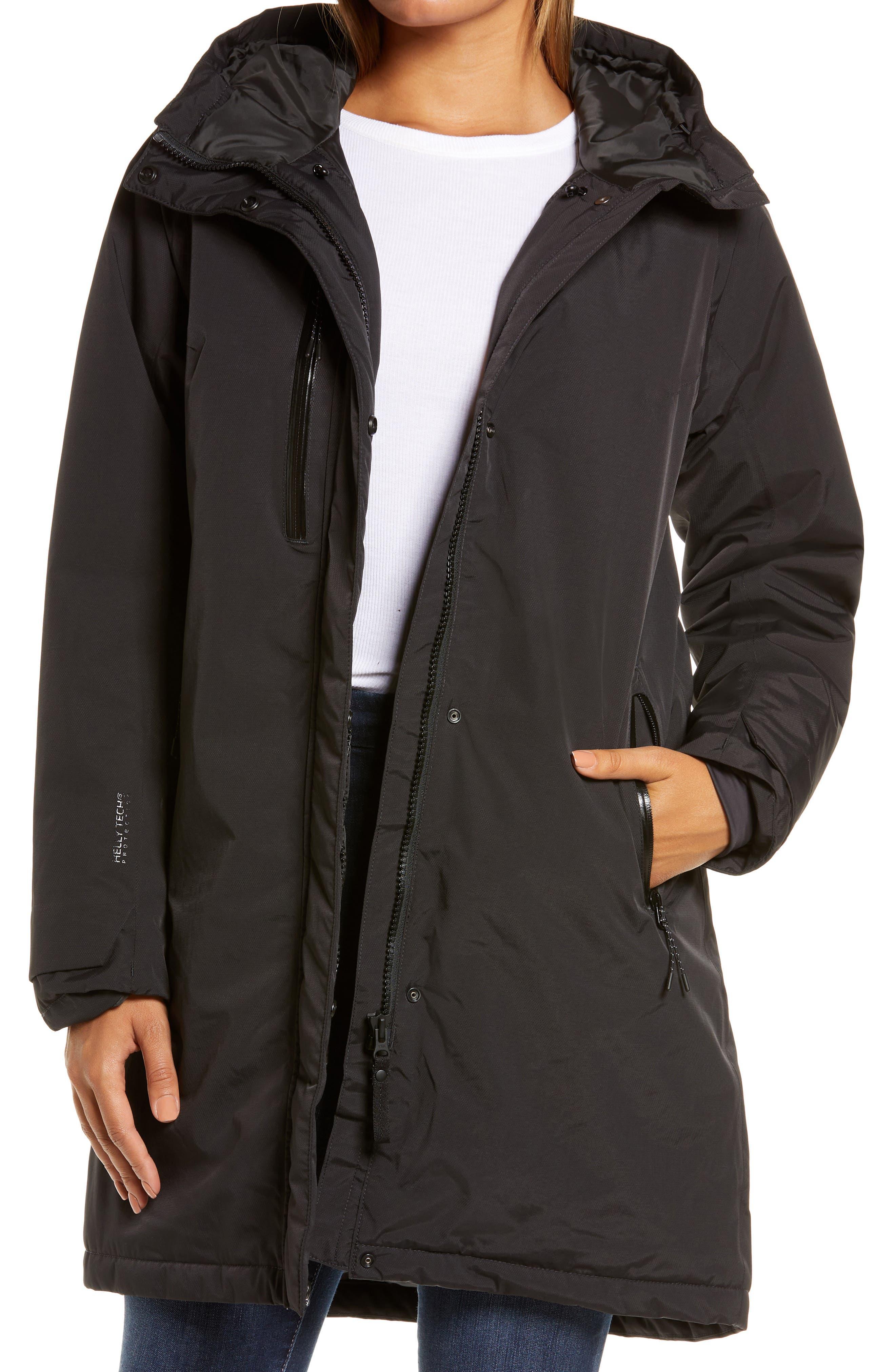 Adore Insulated Hooded Rain Coat