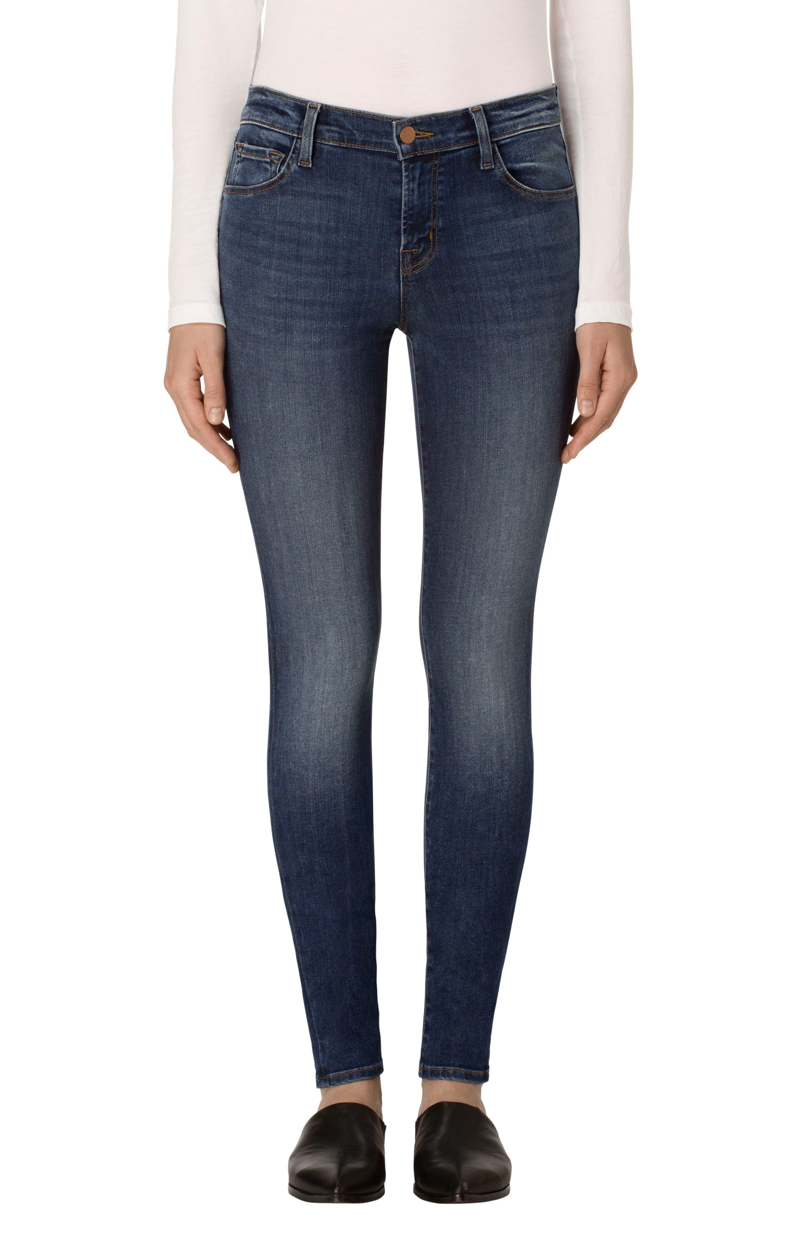 ,                             '620' Mid Rise Super Skinny Jeans,                             Main thumbnail 4, color,                             423
