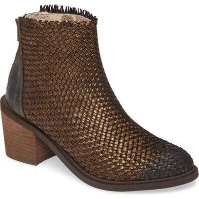 Band Of Gypsies Cortez Woven Bootie, Brown