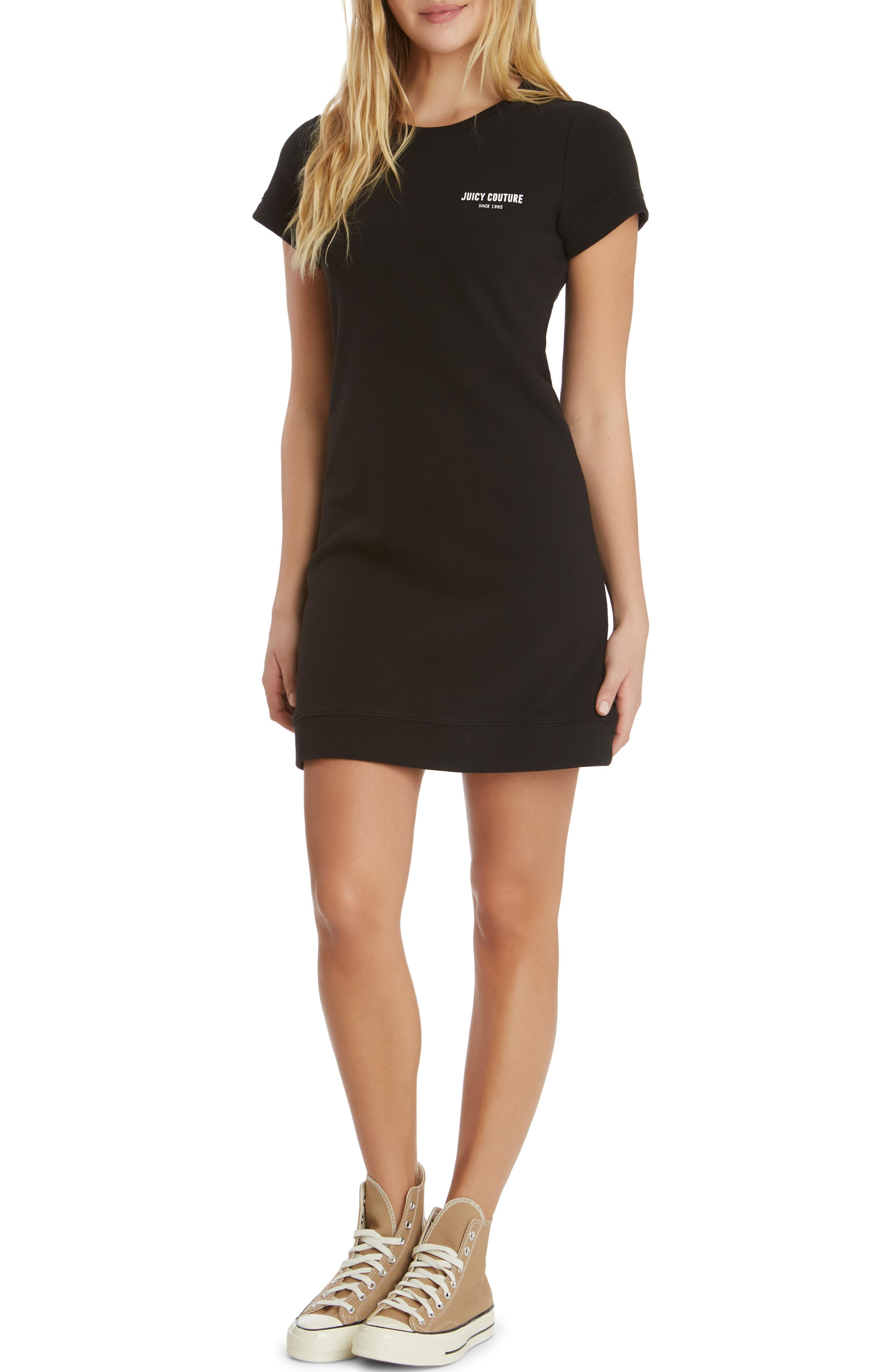 Cotton French Terry T-Shirt Dress