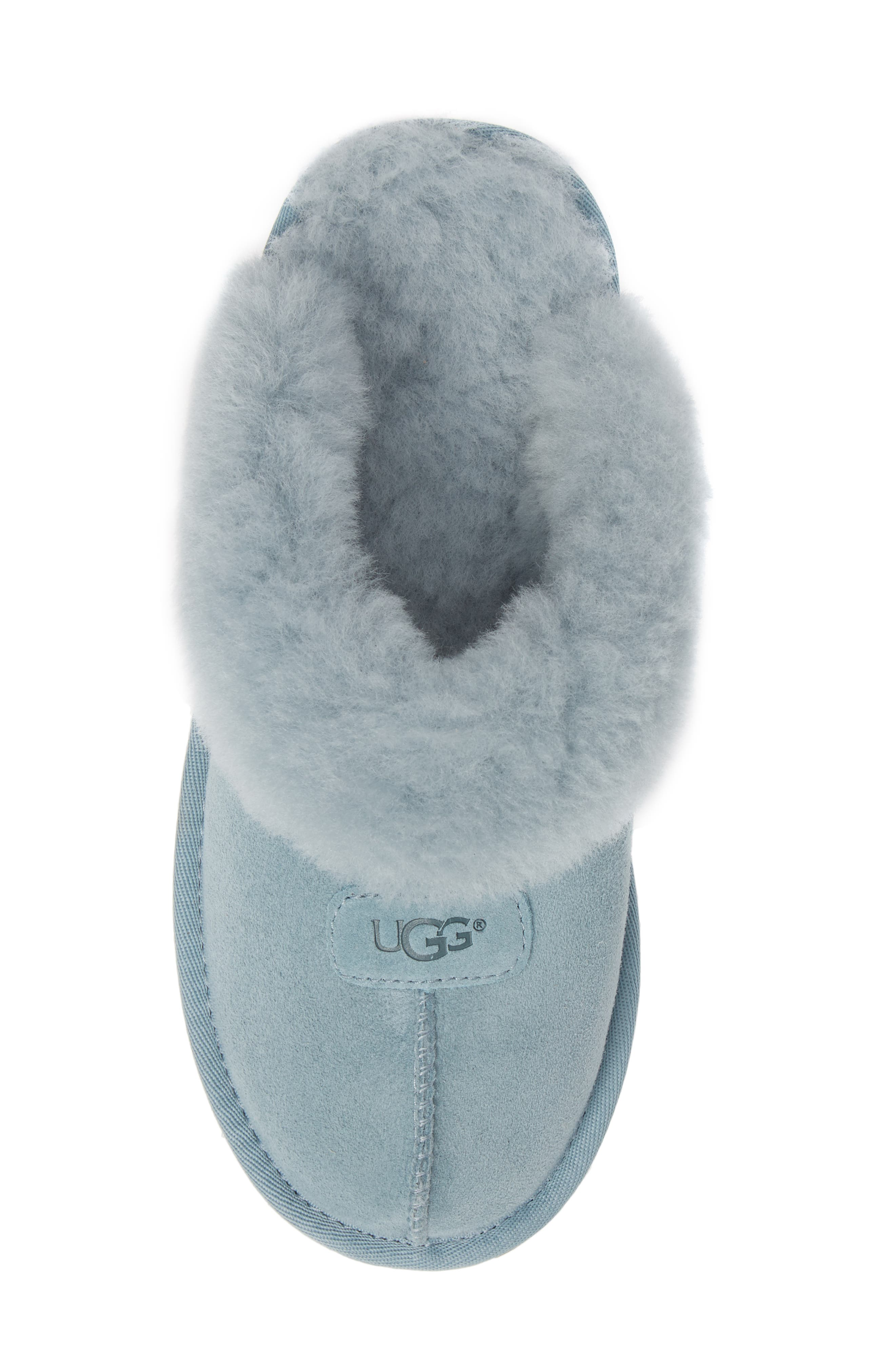 ,                             Genuine Shearling Slipper,                             Alternate thumbnail 28, color,                             401
