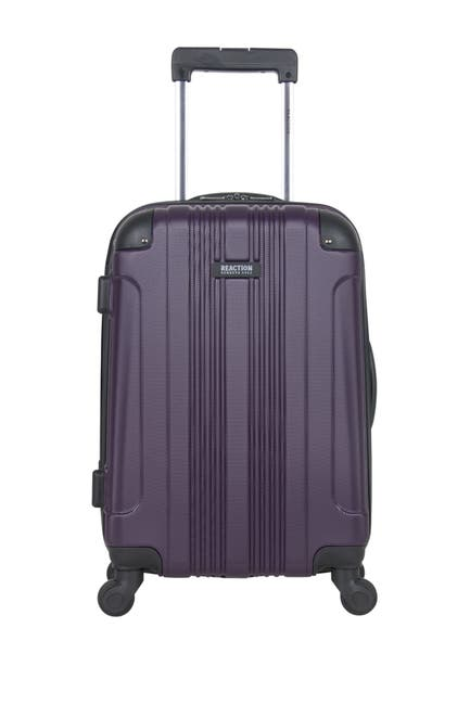 "Image of Kenneth Cole Reaction 20"" Lightweight Hardside 4-Wheel Spinner Carry-On Luggage"