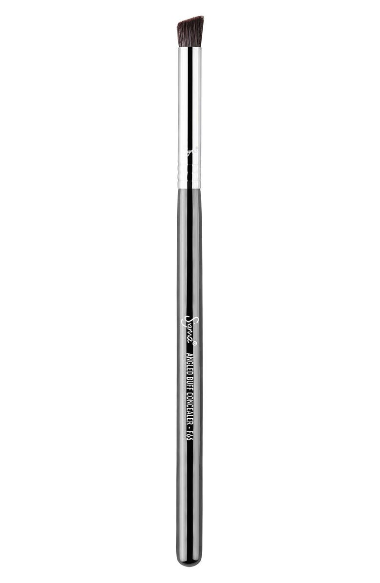 SIGMA BEAUTY F66 Angled Buff Concealer<sup>™</sup> Brush, Main, color, 000