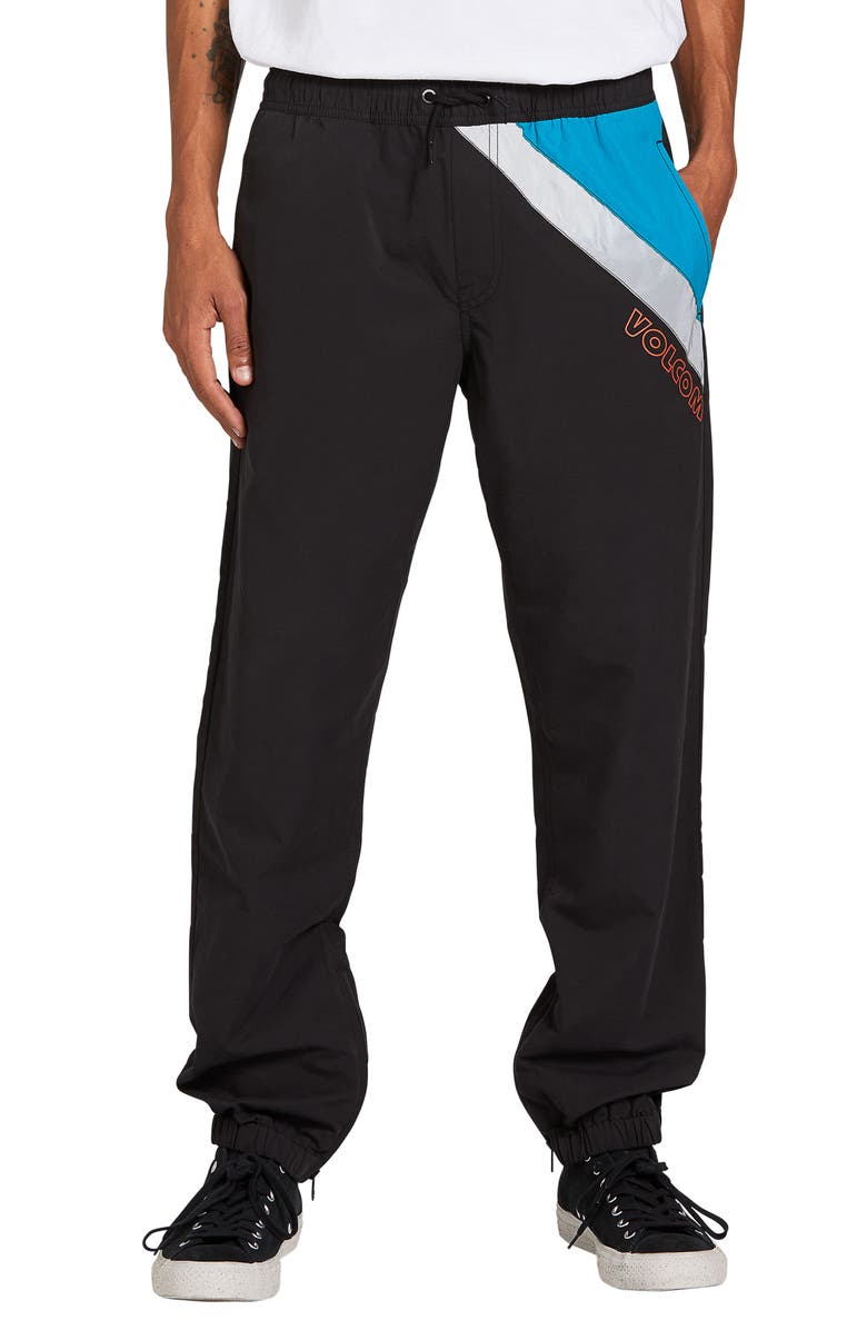 VOLCOM Octagon Jogger Pants, Main, color, BLACK