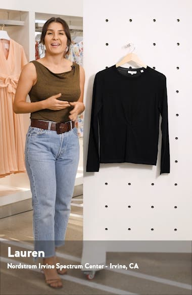 Twist Front Sweater, sales video thumbnail