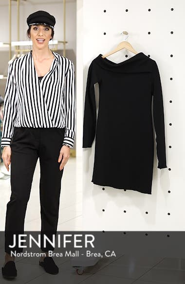 ec89594fd95 ... Grant One-Shoulder Bell Sleeve Shift Dress, sales video thumbnail ...