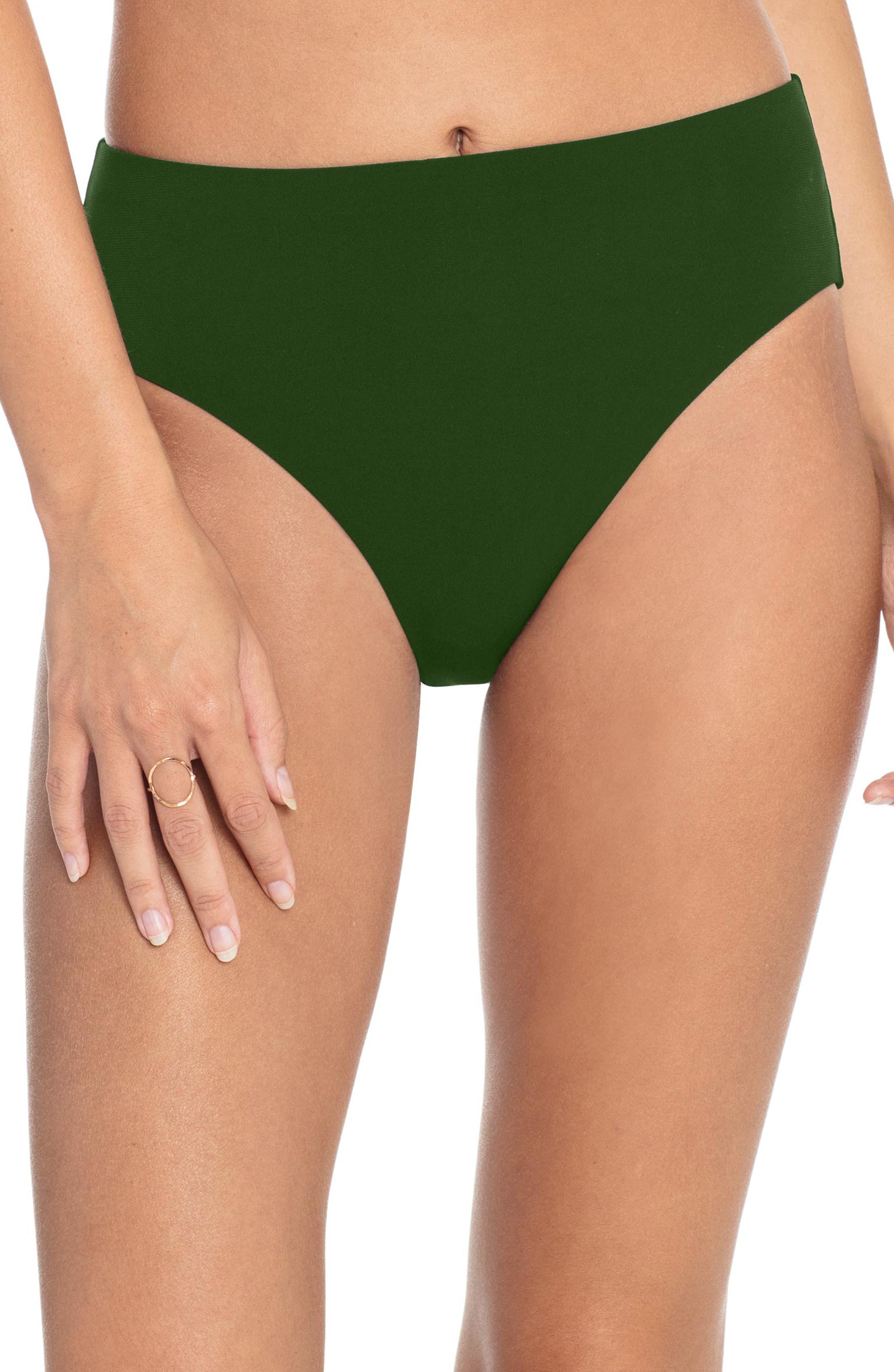 Image of Robin Piccone Ava High Waist Bikini Bottoms
