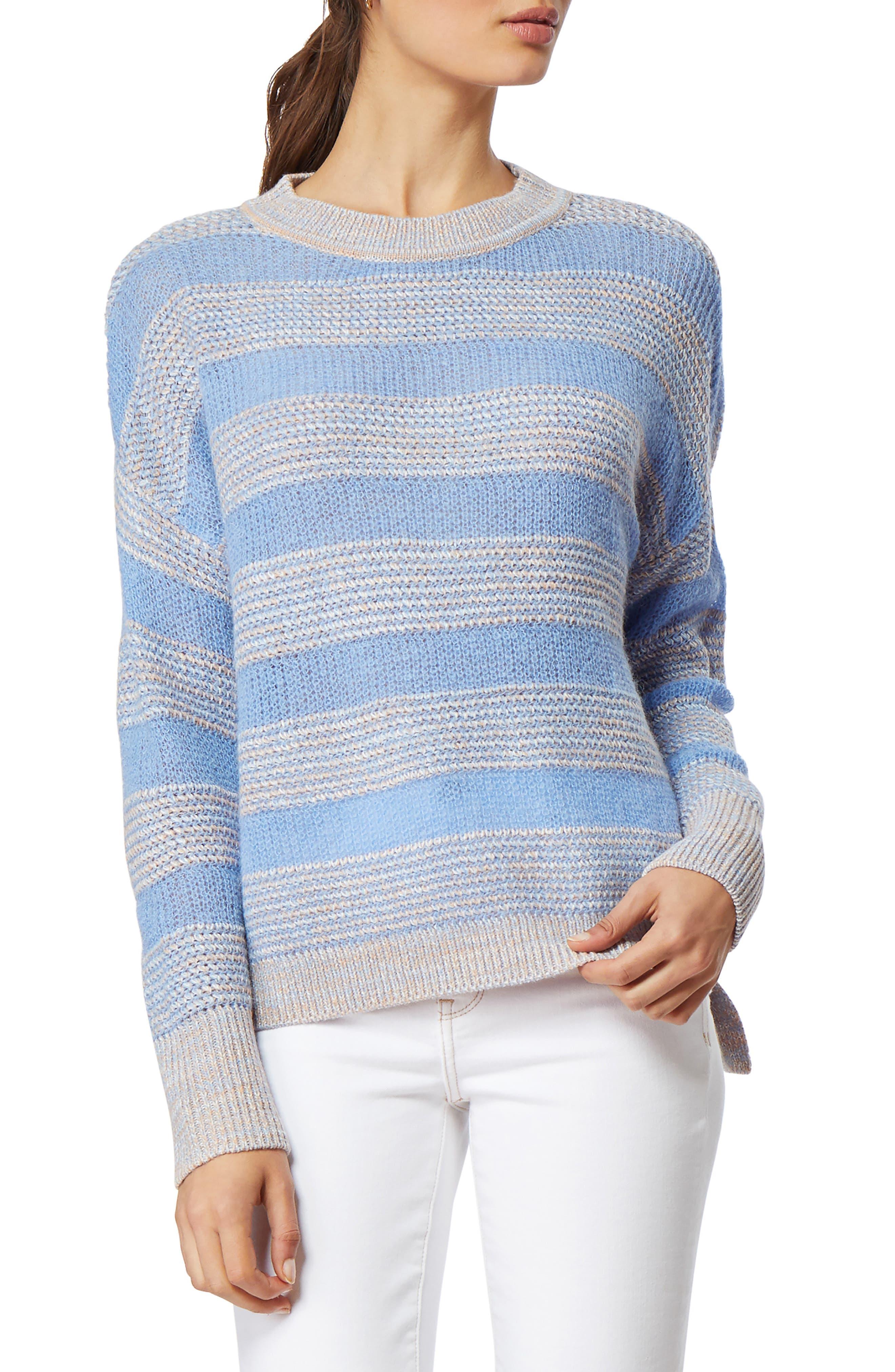 Image of Habitual Hopper Stripe Crew Neck Sweater