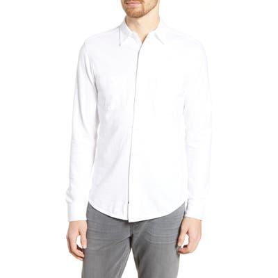 Faherty Seasons Regular Fit Cotton Shirt, White